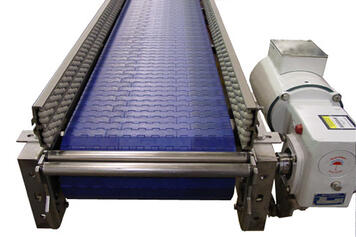 Plastic Modular Belt Conveyor 1