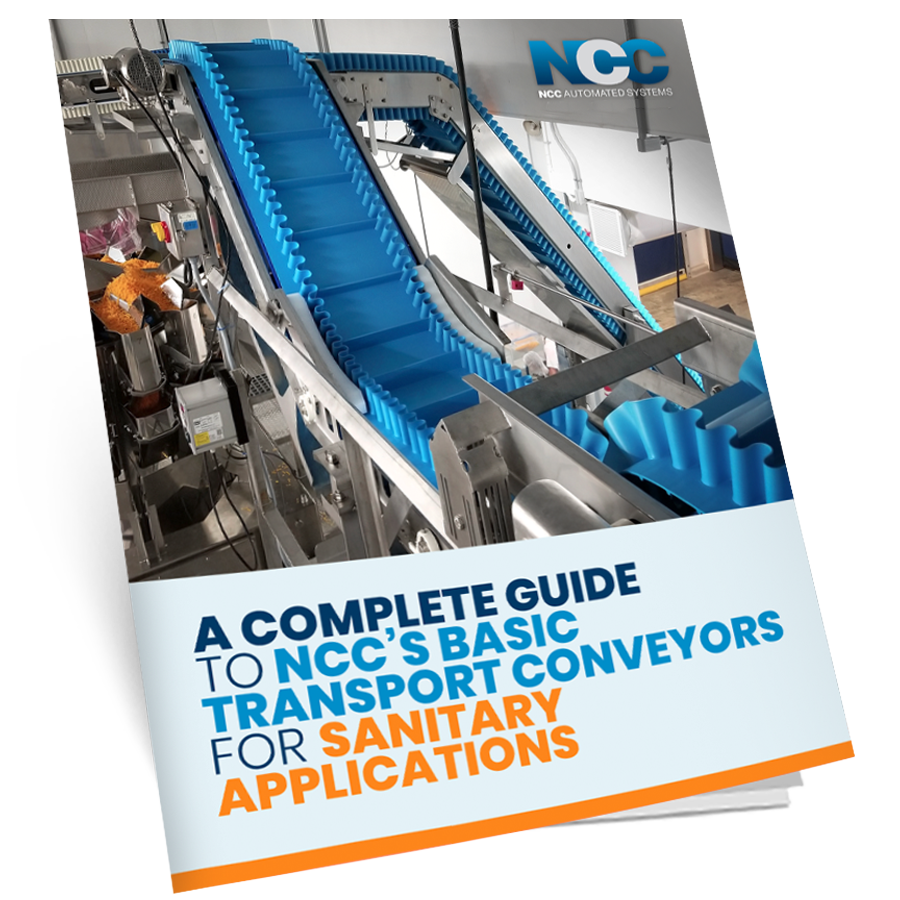 A Complete Guide To NCC's Basic Transport Conveyors for Sanitary Applications -  - mock ebook