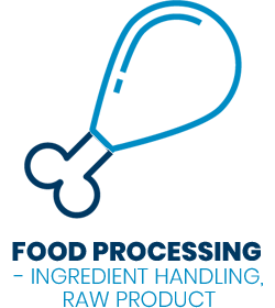 Industry Icons - food processing