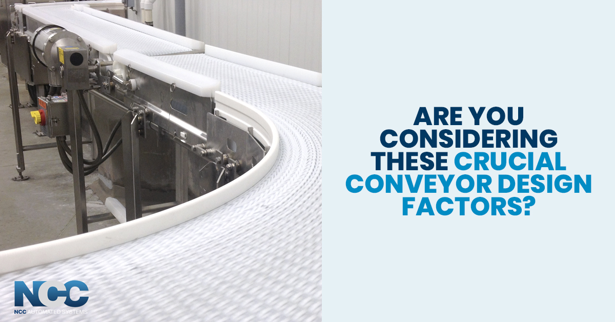 Customers Often Forget To Consider When Building Conveyor Line