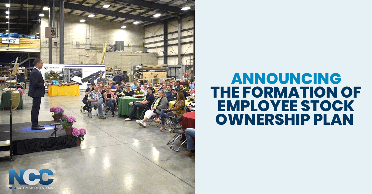 announcing The Formation Of Employee Stock Ownership Plan