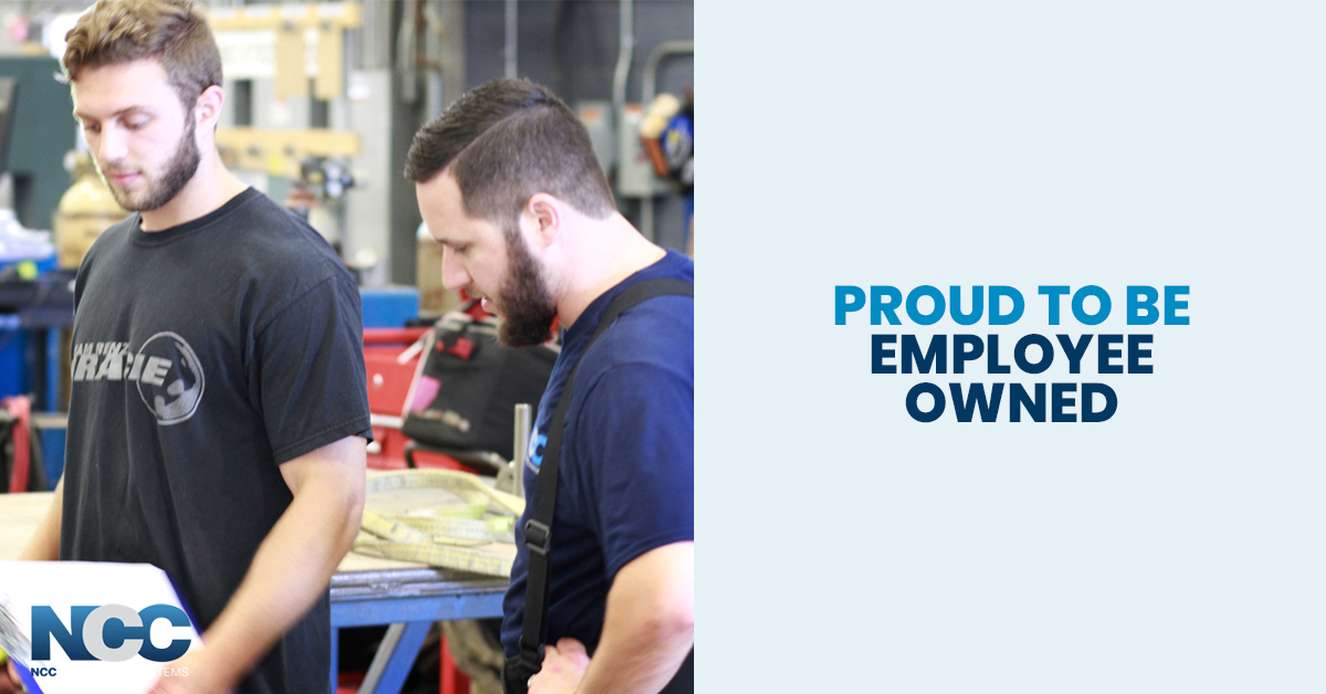 proud to be employee owned