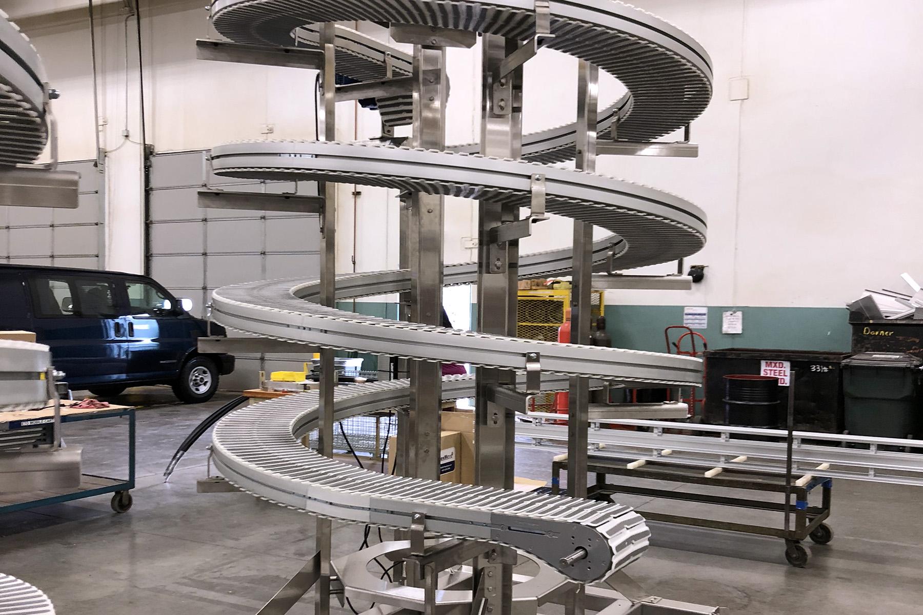 Spiral Conveyors (Non-Sanitary)